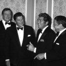 JOHN WAYNE, RONALD REAGAN, DEAN MARTIN & FRANK SINATRA 1977 8X10 PHOTO (EP-575)