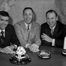 APOLLO 13 CREW - FRED HAISE, JACK SWIGERT AND JIM LOVELL - 8X10 PHOTO (ZZ-210)