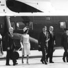 PRESIDENT JOHN F KENNEDY & JACKIE LEAVE FOR MEXICO IN 1962 - 8X10 PHOTO (BB-214)