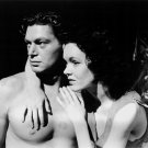 WEISSMULLER MAUREEN O'SULLIVAN 'TARZAN & HIS MATE' 8X10 PUBLICITY PHOTO (AB-065)