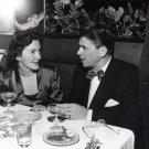 RONALD REAGAN WITH NANCY DAVIS IN UNKNOWN RESTAURANT 1949 - 8X10 PHOTO (AA-012)