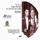 EDGAR BERGEN & CHARLIE McCARTHY - 168 Shows Old Time Radio MP3 Format OTR 1 DVD
