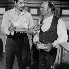 GUY WILLIAMS & GENE SHELDON IN ABC TV SHOW 'ZORRO' 8X10 PUBLICITY PHOTO (DA-552)