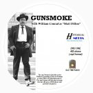 GUNSMOKE - 482 Shows Old Time Radio In MP3 Format OTR On 5 CDs