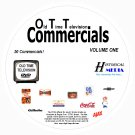 OLD-TIME TELEVISION COMMERCIALS (Vols. 1&2) 100 Vintage TV Commercials On 2 DVDs