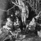 JOHNNY WEISSMULLER & OTHERS IN 'TARZAN & HIS MATE' 8X10 PUBLICITY PHOTO (AB-073)