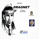DRAGNET - 373 Shows Old Time Radio In MP3 Format OTR 8 CDs - Starring Jack Webb