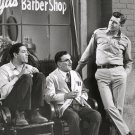 'THE ANDY GRIFFITH SHOW' GOOBER, FLOYD & ANDY AT BARBER SHOP 8X10 PHOTO (EP-749)