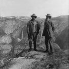 PRESIDENT THEODORE ROOSEVELT WITH JOHN MUIR AT YOSEMITE - 8X10 PHOTO (AA-674)