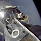 """GUMDROP"" MEETS ""SPIDER"" DURING THE APOLLO 9 MISSION - 8X10 NASA PHOTO (EP-501)"