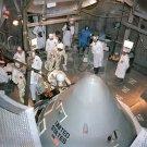 APOLLO 1 CREW PREPARES TO ENTER COMMAND MODULE AT KSC - 8X10 NASA PHOTO (EP-525)