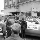 LEONARD NIMOY AS MR. SPOCK GRAND MARSHALL PEAR BLOSSOM FEST. 8X10 PHOTO (DA-557)