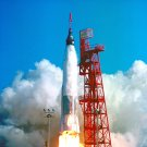LAUNCH OF FRIENDSHIP 7 (MA-6) FROM PAD 14 JOHN GLENN - 8X10 NASA PHOTO (EP-169)