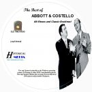 BEST OF ABBOTT & COSTELLO - 88 Shows Old Time Radio Shows In MP3 Format OTR 1 CD