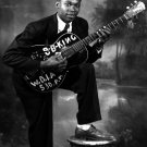 B.B. KING EARLY PORTRAIT OF LEGENDARY BLUESMAN GUITAR PLAYER 8X10 PHOTO (ZZ-057)