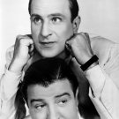 AMERICAN COMEDY DUO BUD ABBOTT AND LOU COSTELLO - 8X10 PUBLICITY PHOTO (CC-100)