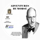 ADVENTURES BY MORSE - 54 Shows Old Time Radio In MP3 Format OTR On 1 DVD