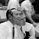 CHRIS KRAFT & GENE KRANZ IN MISSION CONTROL DURING GEMINI 6 8X10 PHOTO (AA-621)