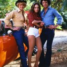 'DUKES OF HAZZARD' CAST SCHNEIDER, BACH & WOPAT' - 8X10 PUBLICITY PHOTO (AA-123)