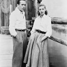 HUMPHREY BOGART AND LAUREN BACALL IN 'KEY LARGO' - 8X10 PUBLICITY PHOTO (DA-523)