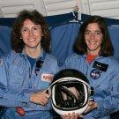 TEACHERS IN SPACE CHRISTA McAULIFFE AND BARBARA MORGAN 8X10 NASA PHOTO (AB-008)