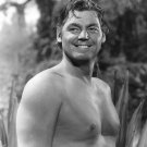 JOHNNY WEISSMULLER IN 'TARZAN & THE AMAZONS' 8X10 PUBLICITY PHOTO (AB-087)