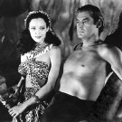 WEISSMULLER ACQUANETTA TARZAN & THE LEOPARD WOMAN 8X10 PUBLICITY PHOTO (AB-100)