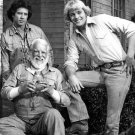 JOHN SCHNEIDER TOM WOPAT & DENVER PYLE 'THE DUKES OF HAZZARD' - 8X10 PHOTO (DA-636)