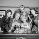 CAST FROM CBS TV PROGRAM 'PETTICOAT JUNCTION' - 8X10 PUBLICITY PHOTO (DA-589)
