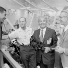 WERNHER VON BRAUN & OTHERS DURING APOLLO 15 PRE-LAUNCH 8X10 NASA PHOTO (DA-222)