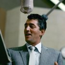 LEGENDARY ENTERTAINER DEAN MARTIN IN A RECORDING SESSION - 8X10 PHOTO (EP-754)
