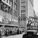 GENERAL GEORGE S. PATTON WELCOMED BY CROWDS IN LOS ANGELES - 8X10 PHOTO (AA-026)