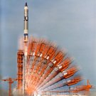 TIME-LAPSE OF PAD 19 PRIOR TO THE GEMINI 10 LAUNCH - 8X10 NASA PHOTO (EP-793)