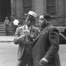 WILLIE 'THE LION' SMITH AND FATS WALLER IN HARLEM MAY 1937 - 8X10 PHOTO (AA-077)