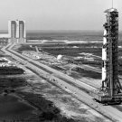APOLLO 10 SATURN V ROLLOUT FROM VEHICLE ASSEMBLY BUILDING - 8X10 PHOTO (EP-344)