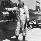 NASA TEST PILOT JOE WALKER STANDS BESIDE X-15 AIRCRAFT - 8X10 PHOTO (EP-566)