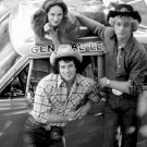 'DUKES OF HAZZARD' CAST SCHNEIDER, BACH & WOPAT' - 8X10 PUBLICITY PHOTO (DA-675)