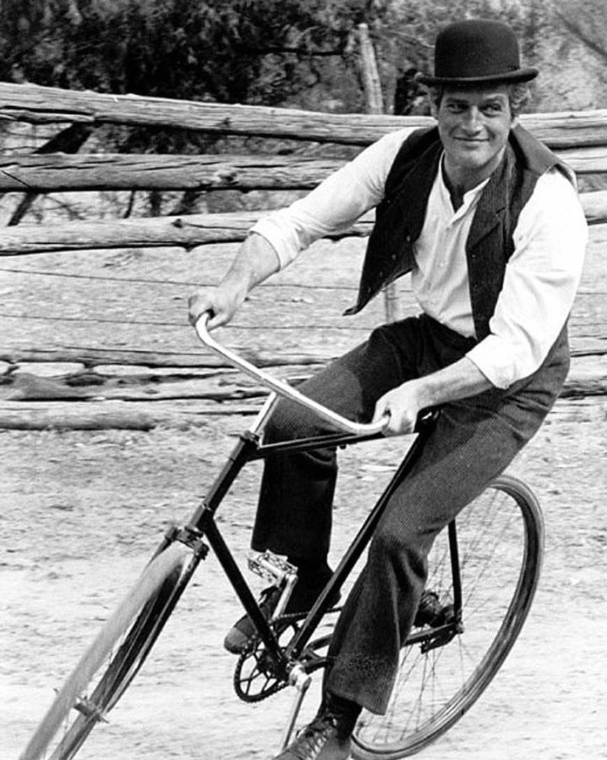 PAUL NEWMAN IN 'BUTCH CASSIDY & THE SUNDANCE KID' 8X10 PUBLICITY PHOTO (DA-679)
