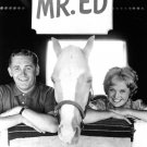 "ALAN YOUNG, CONNIE HINES AND ""MISTER ED"" - 8X10 PUBLICITY PHOTO (ZY-122)"