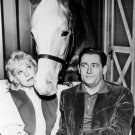 """ALAN YOUNG, CONNIE HINES AND """"MISTER ED"""" - 8X10 PUBLICITY PHOTO (ZY-131)"""