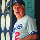 FORMER LOS ANGELES DODGERS MANAGER TOMMY LASORDA - 8X10 PHOTO (NN-035)