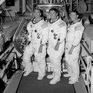 APOLLO 7 CREW WALLY SCHIRRA WALT CUNNINGHAM EISELE - 8X10 NASA PHOTO (BB-037)