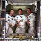 APOLLO 7 CREW WALLY SCHIRRA WALT CUNNINGHAM DON EISELE 8X10 NASA PHOTO (BB-072)