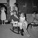 PRESIDENT JOHN F. KENNEDY AND FAMILY AT FLORIDA RETREAT - 8X10 PHOTO (BB-238)