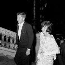 PRESIDENT JOHN F. KENNEDY & WIFE JACKIE IN PARIS IN 1961 - 8X10 PHOTO (BB-802)