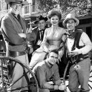 CAST OF THE TELEVISION SHOW 'GUNSMOKE' - 8X10 PUBLICITY PHOTO (BB-785)
