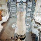 APOLLO 10 COMMAND/SERVICE MODULES IN VAB - 8X10 NASA PHOTO (ZZ-439)