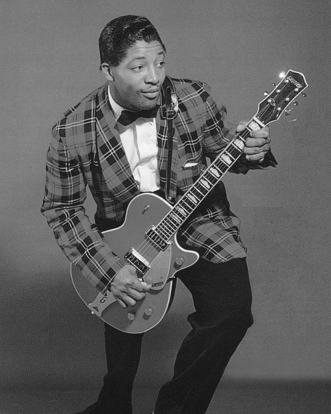 R&B AND BLUES VOCALIST BO DIDDLEY - 8X10 PUBLICITY PHOTO (AA-197)