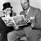 EDGAR BERGEN WITH CHARLIE McCARTHY- 8X10 PUBLICITY PHOTO (BB-329)