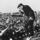ELVIS PRESLEY ON STAGE IN TUPELO, MISSISSIPPI IN 1957 - 8X10 PHOTO (DA-406)
